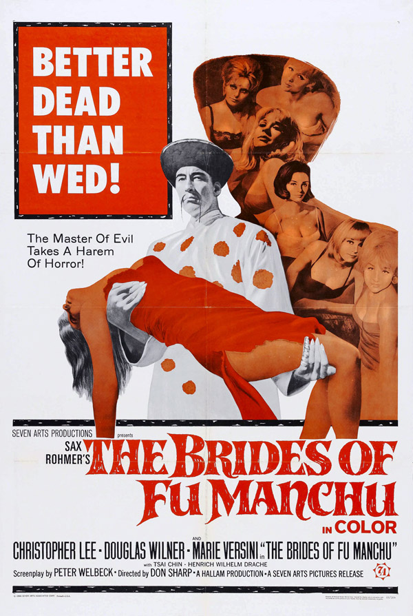 Us poster from the movie The Brides of Fu Manchu