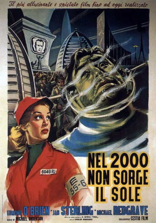 Italian poster from the movie 1984