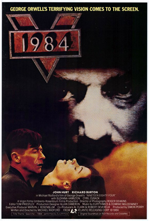Unknown poster from the movie Nineteen Eighty-Four