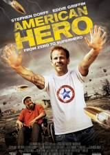 Movie poster from American Hero, in theaters on December 11, 2015