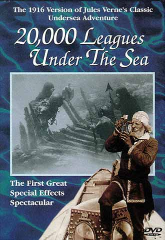 Unknown artwork from the movie 20,000 Leagues Under the Sea