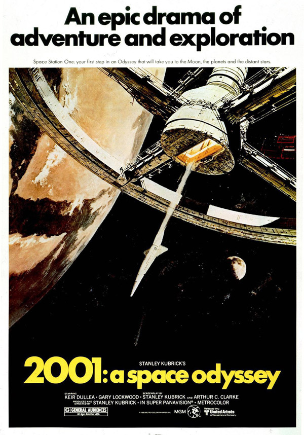 Us poster from the movie 2001: A Space Odyssey