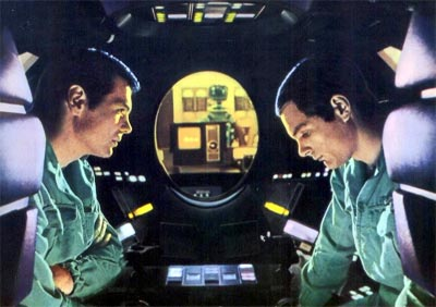 Bowman and Pool plan to disconnect HAL - 2001: A Space Odyssey