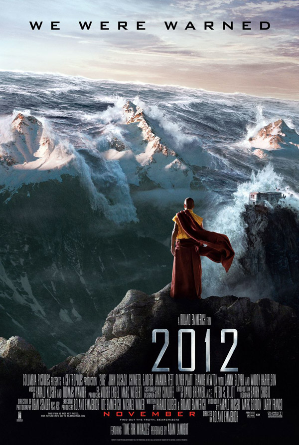 Us poster from the movie 2012