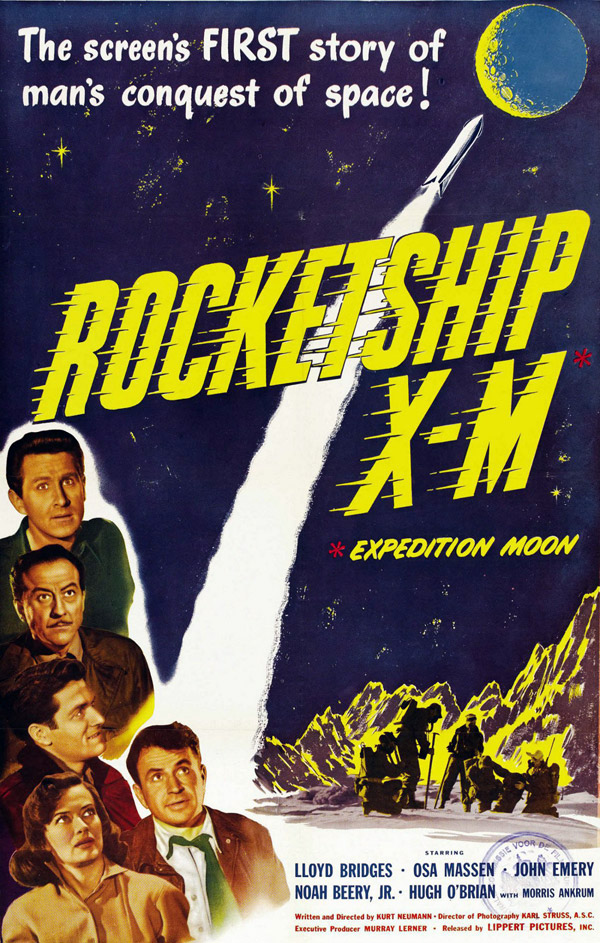 Us poster from the movie Rocketship X-M