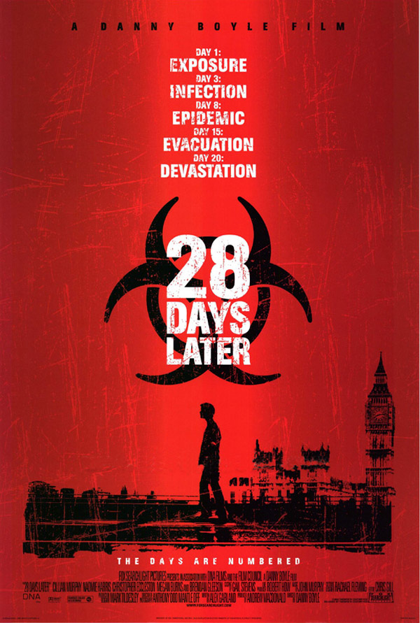 Us poster from the movie 28 Days Later (28 Days Later...)