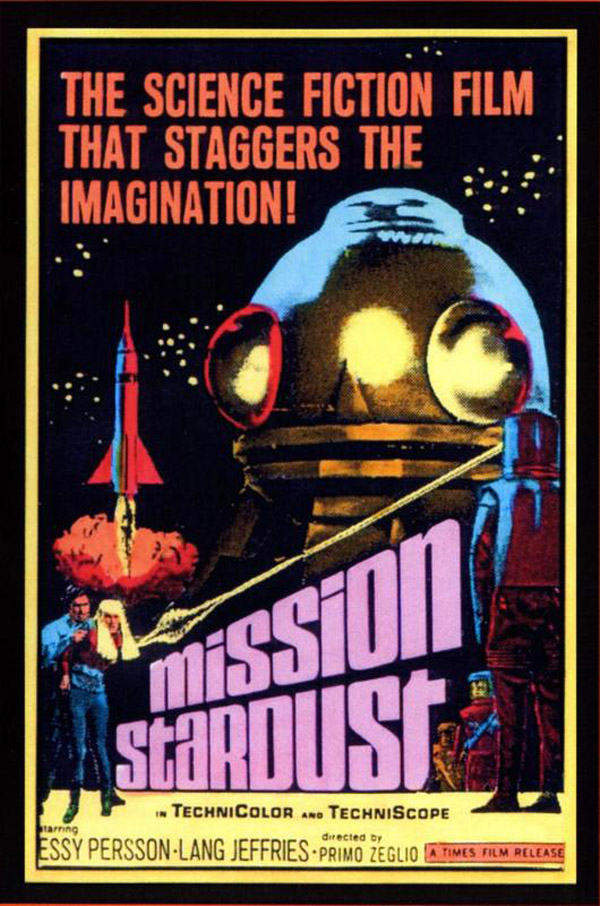 Us poster from the movie Mission Stardust (...4 ...3 ...2 ...1 ...morte)