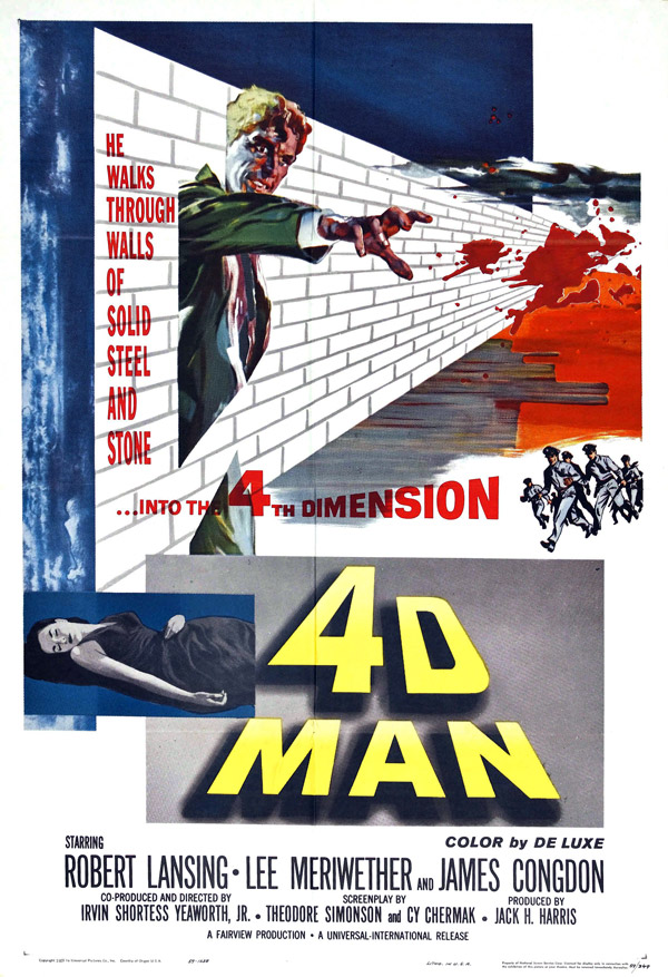Us poster from the movie 4D Man
