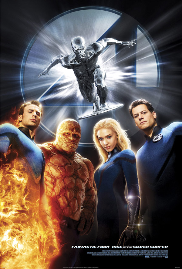 Us poster from the movie 4: Rise of the Silver Surfer