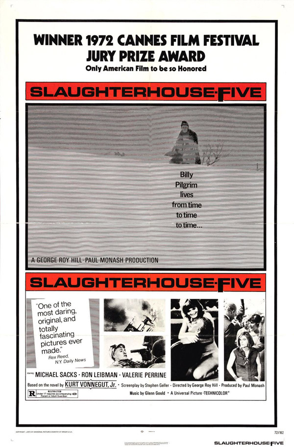 Us poster from the movie Slaughterhouse-Five