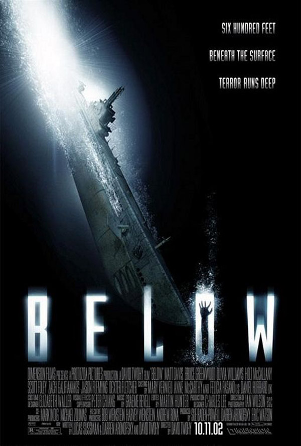 Us poster from the movie Below