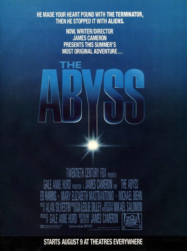 Unknown poster from the movie The Abyss