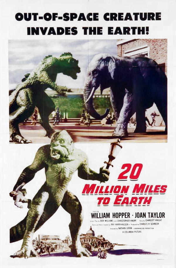 Unknown poster from the movie 20 Million Miles to Earth