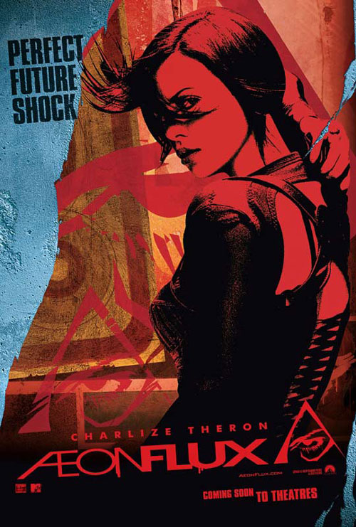 Us poster from the movie Æon Flux