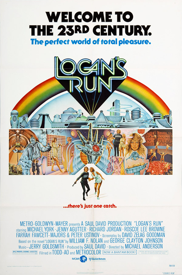 Us poster from the movie Logan's Run