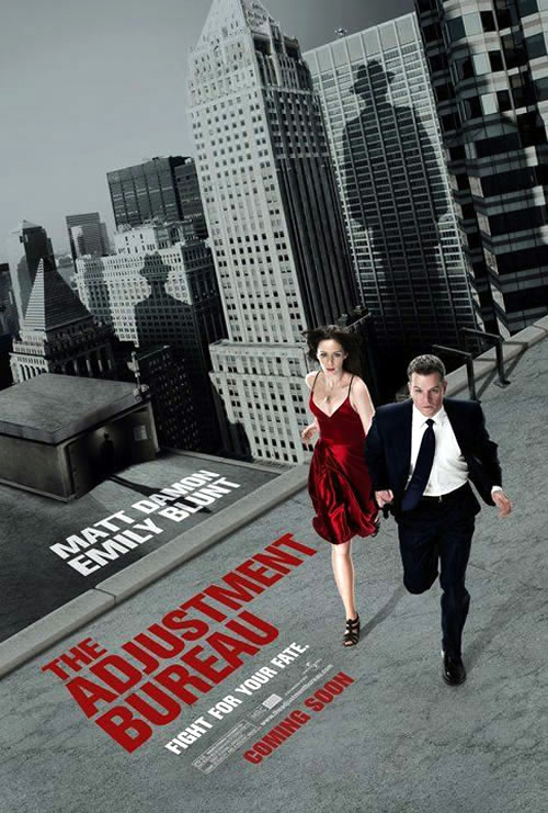 Us poster from the movie The Adjustment Bureau