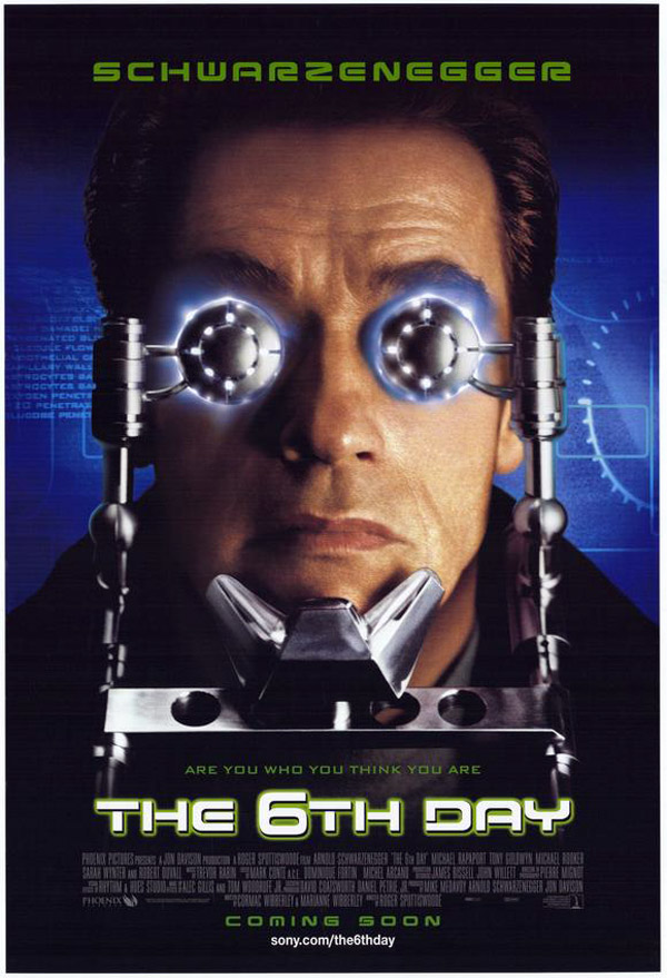 Us poster from the movie The 6th Day