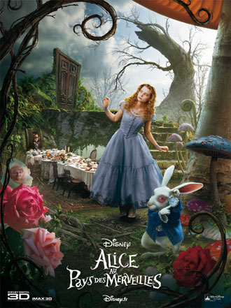 Us poster from the movie Alice in Wonderland