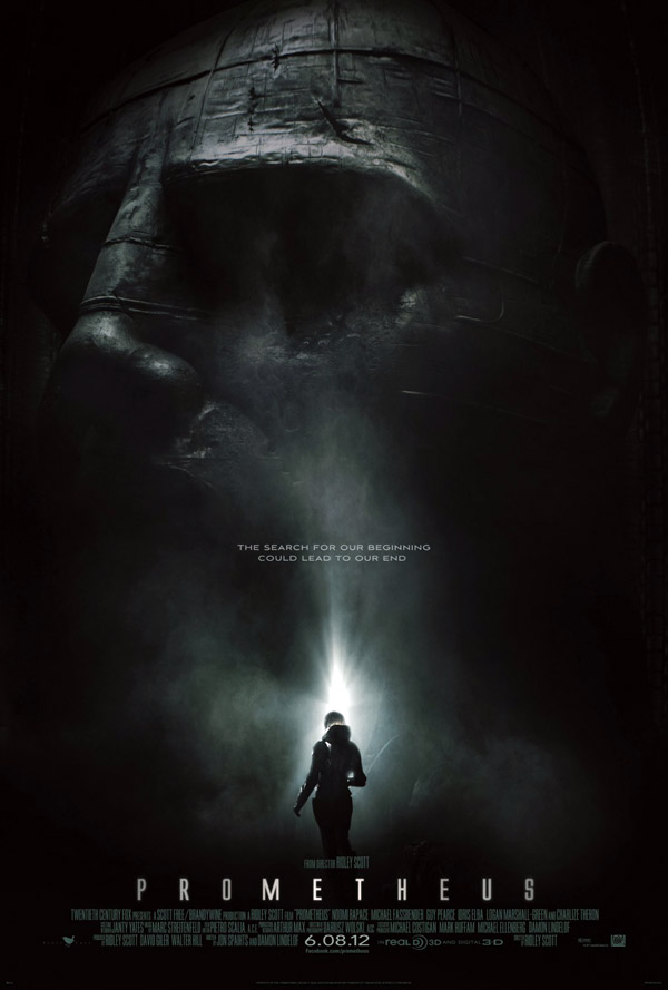 Us poster from the movie Prometheus