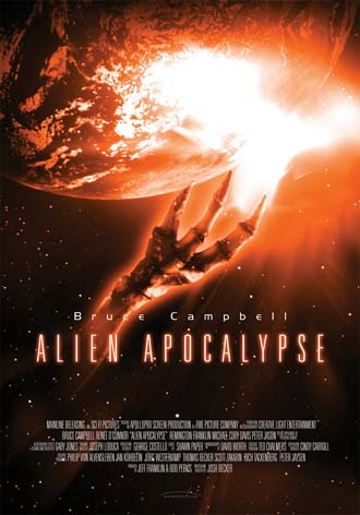 Us poster from the TV movie Alien Apocalypse