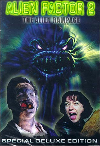 French poster from the movie Alien Factor 2: The Alien Rampage
