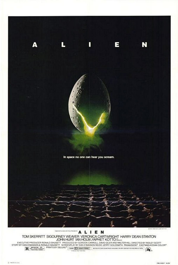 Us poster from the movie Alien