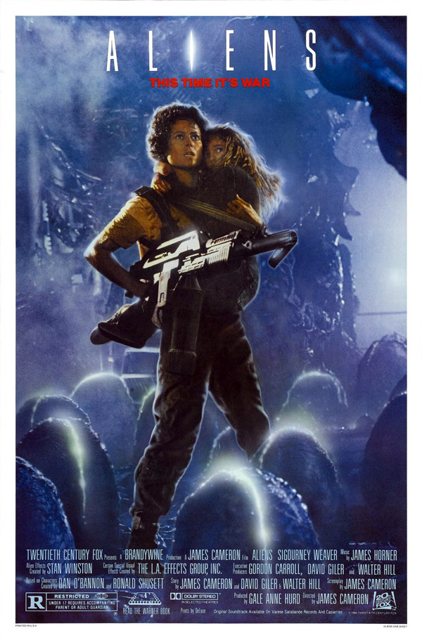 Us poster from the movie Aliens