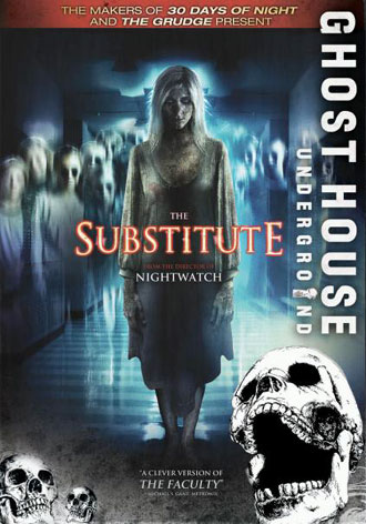 Us poster from the movie The Substitute (Vikaren)