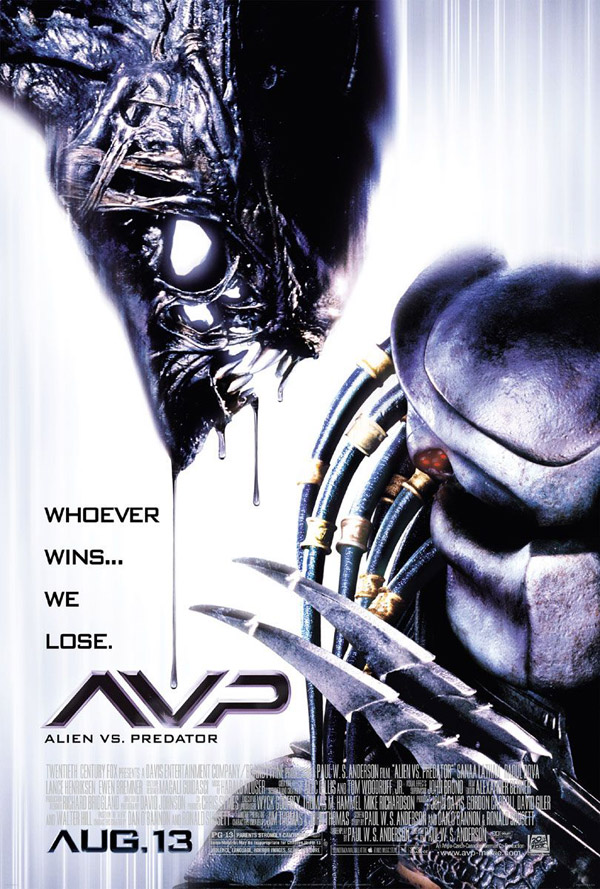 Us poster from the movie AVP: Alien vs. Predator