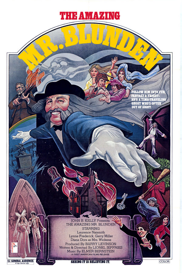 Unknown poster from the movie The Amazing Mr. Blunden