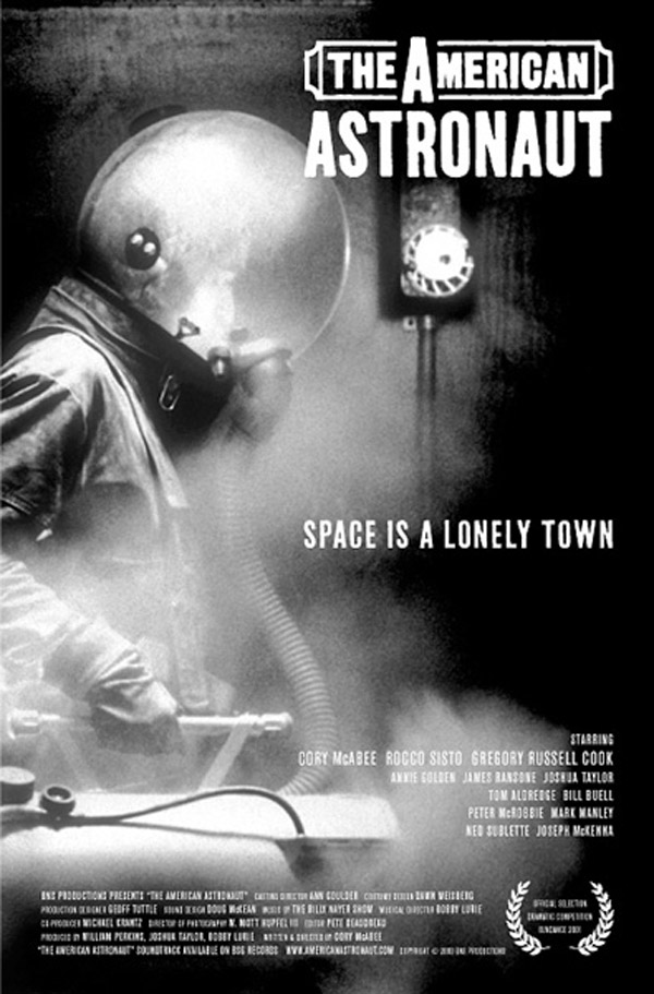 Us poster from the movie The American Astronaut