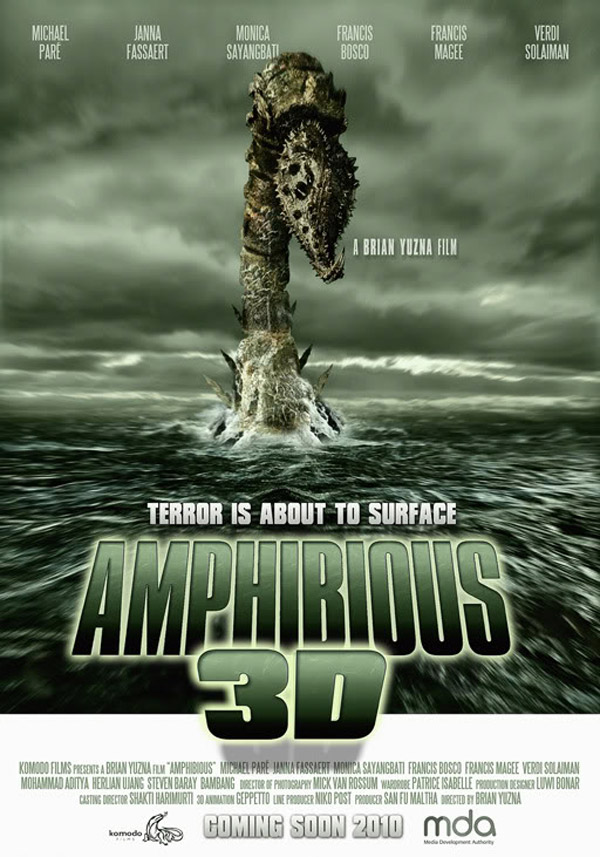 Unknown poster from the movie Amphibious Creature of the Deep (Amphibious 3D)