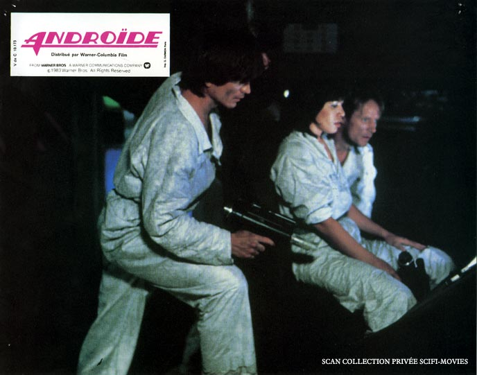Photo de 'Androïde' - Scan scifi-movies ©1983 Warner Bros - Androïde (Android) - cliquez sur la photo pour la fermer