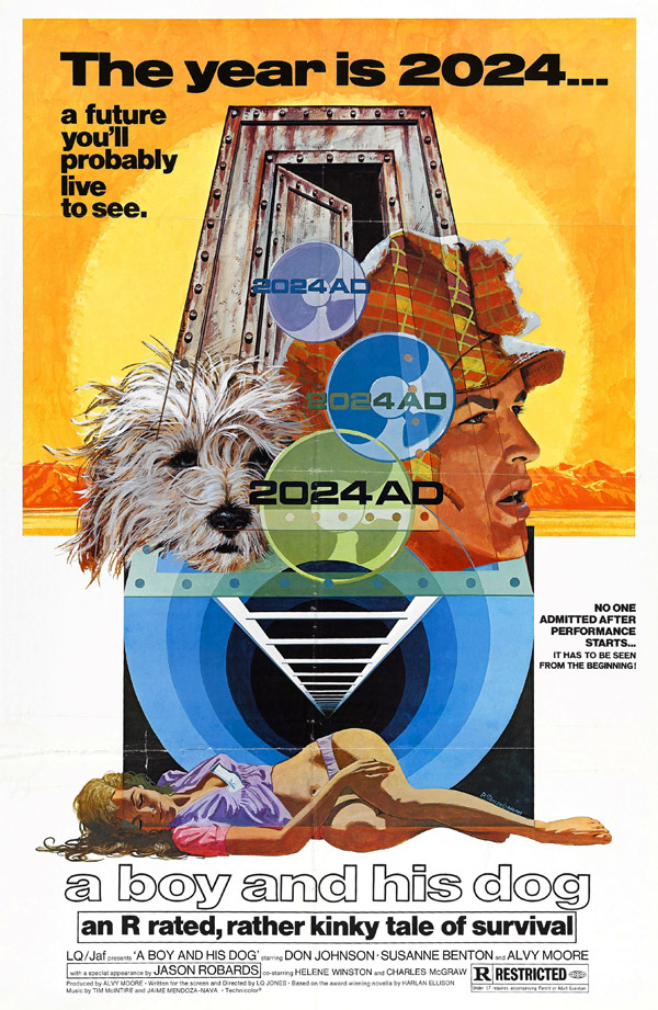 Us poster from the movie A Boy and His Dog