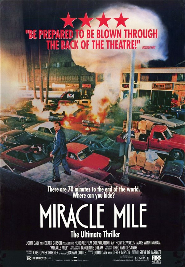 Us poster from the movie Miracle Mile