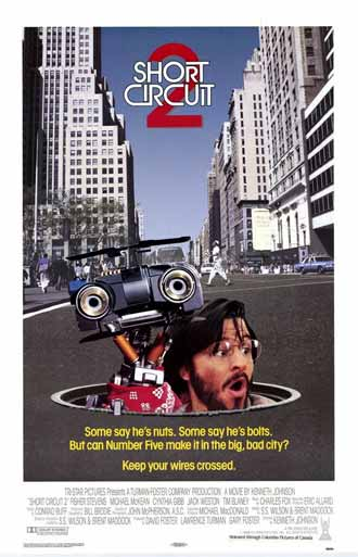 Us poster from the movie Short Circuit 2