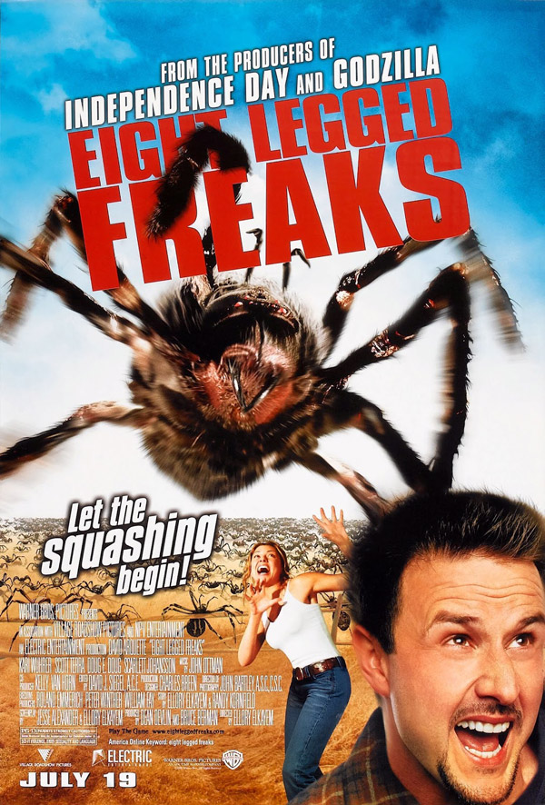 Us poster from the movie Eight Legged Freaks