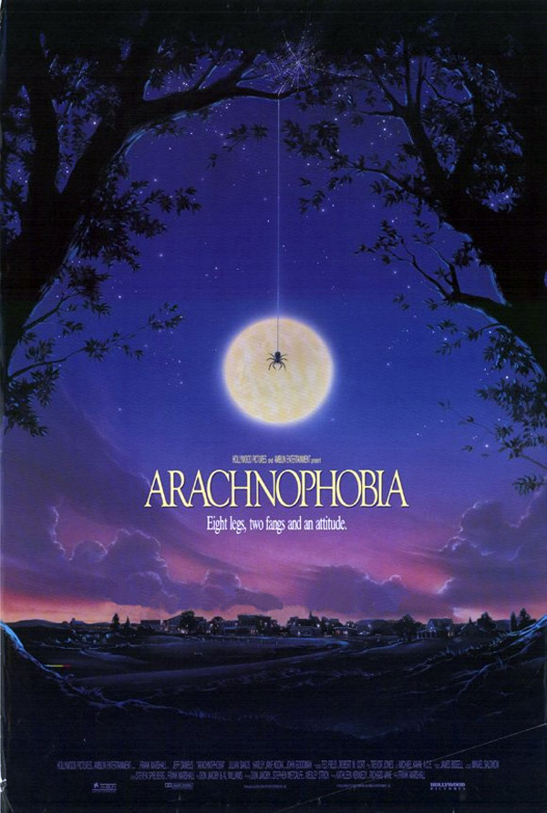 Us poster from the movie Arachnophobia