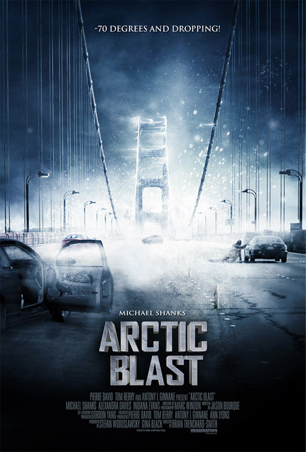 Unknown poster from the movie Arctic Blast