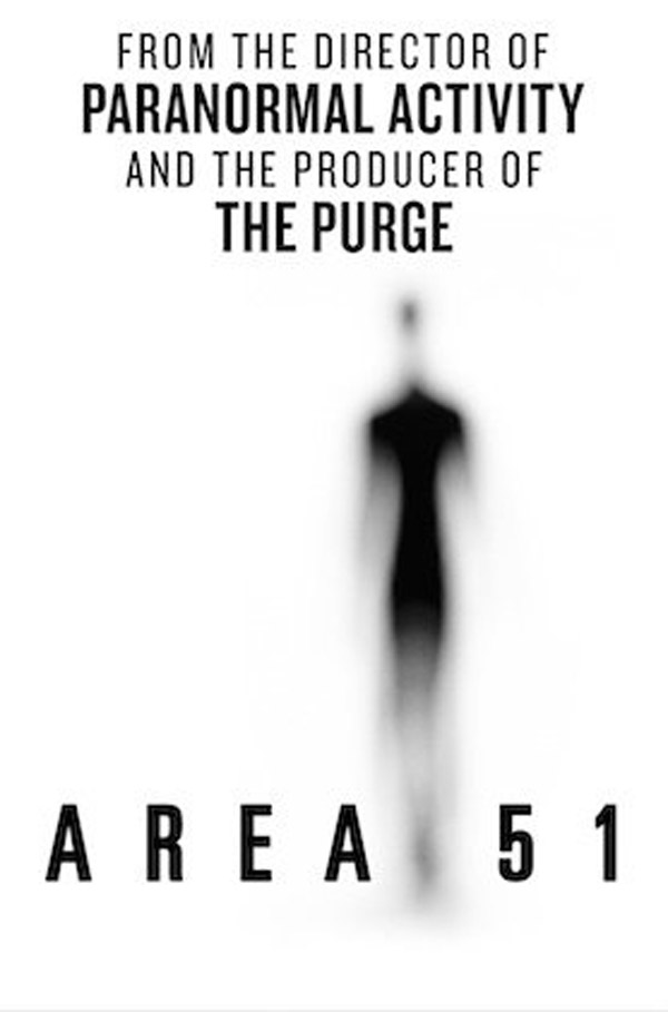 Us poster from the movie Area 51