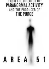 Movie poster from Area 51, in theaters on May 25, 2015