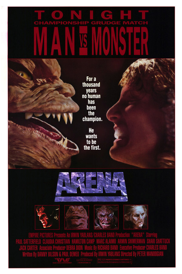 Us poster from the movie Arena
