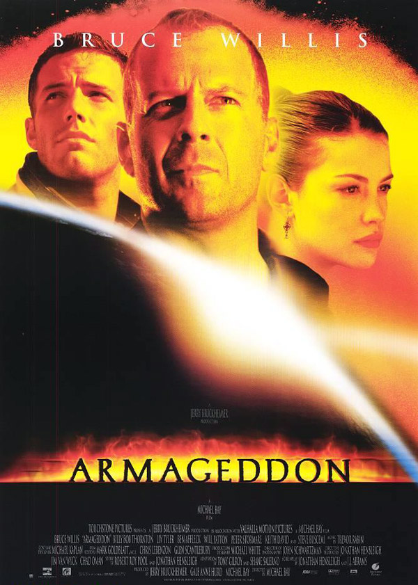 Us poster from the movie Armageddon