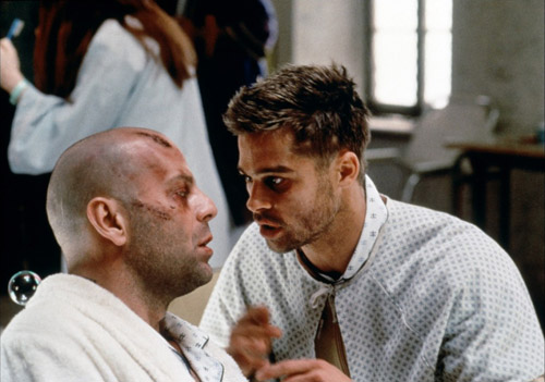 Cole meets Jeffrey - Twelve Monkeys