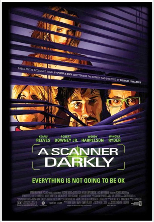 Us poster from the movie A Scanner Darkly