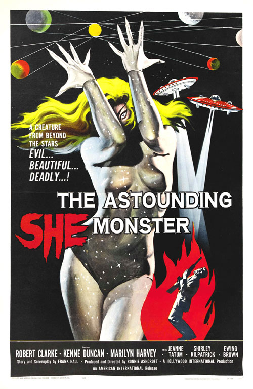 Us poster from the movie The Astounding She-Monster