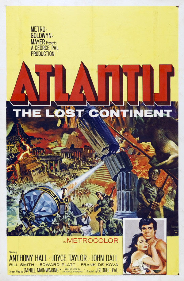 Us poster from the movie Atlantis, the Lost Continent