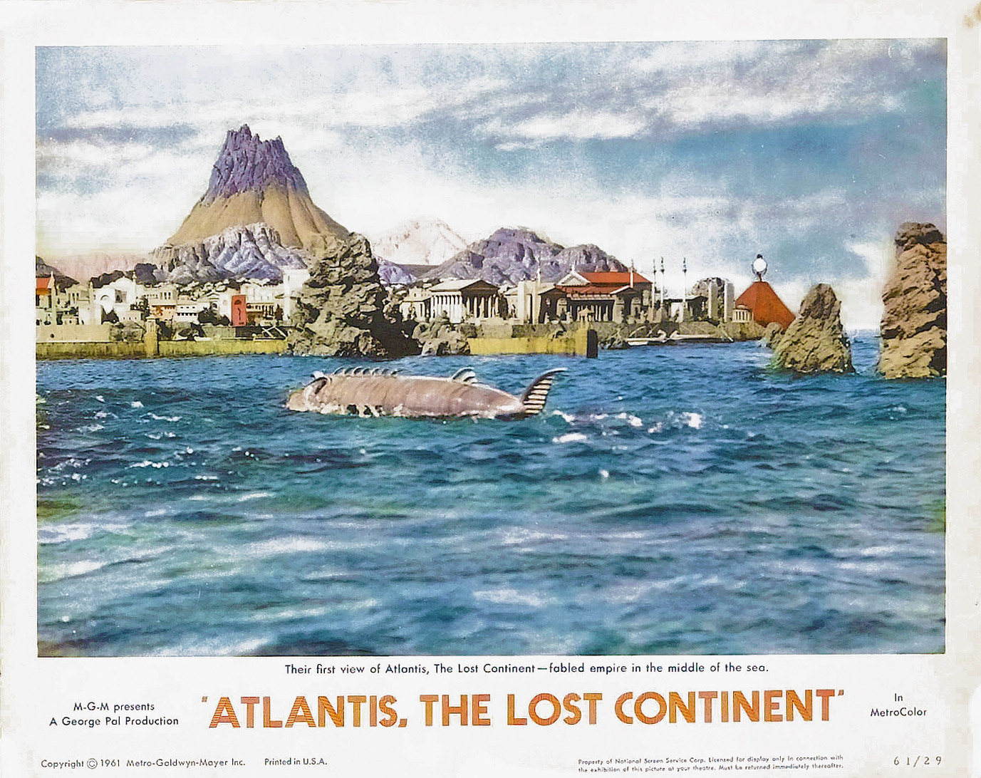 Photo de 'Atlantis terre engloutie' - ©1961 MGM - Atlantis terre engloutie (Atlantis, the Lost Continent) - cliquez sur la photo pour la fermer
