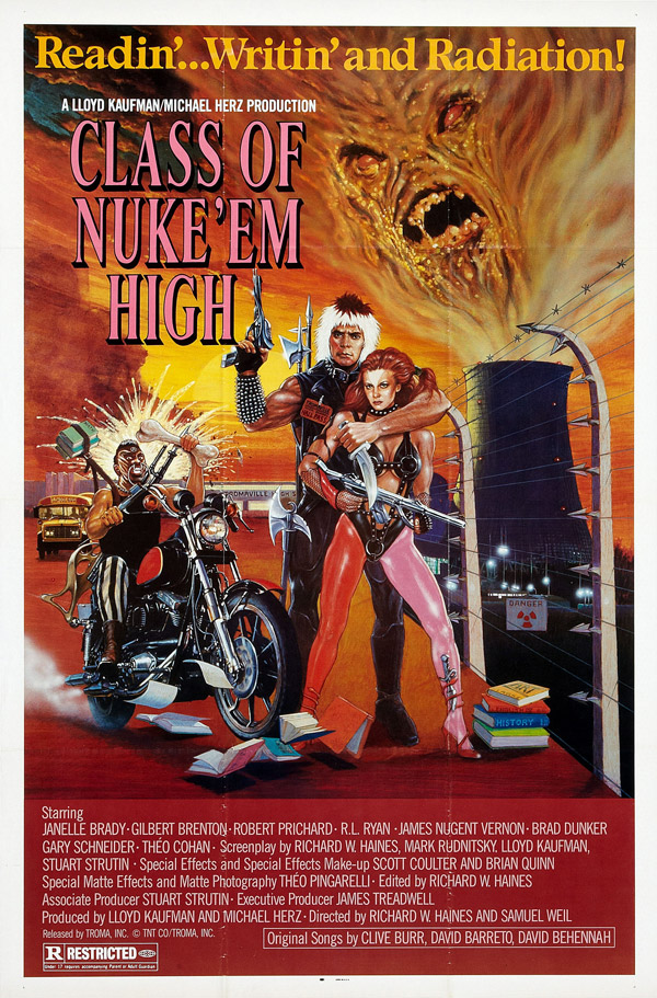 Us poster from the movie Class of Nuke 'Em High