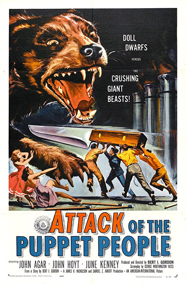 Us poster from the movie Attack of the Puppet People